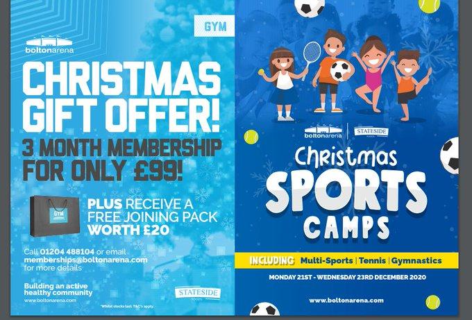 Christmas sports camps https://t.co/ME2TRhv0Zq