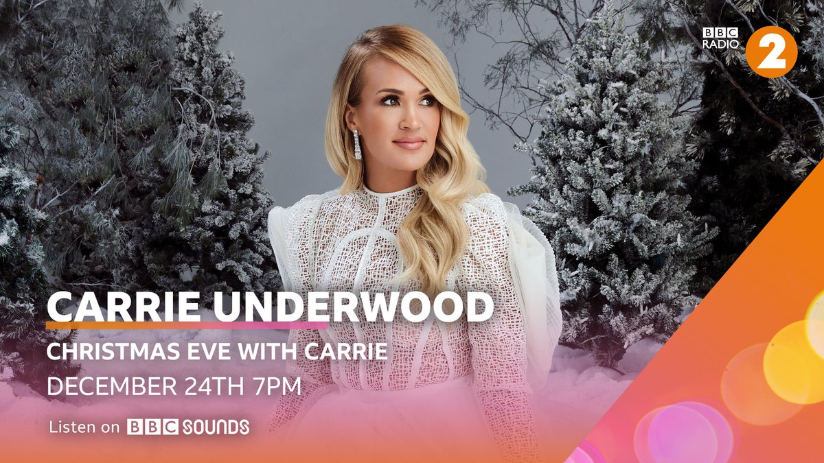 Join country superstar @carrieunderwood as she turns Christmas DJ to play an hour of her favourite Christmas music and share her memories of the season 🎄  Listen on @bbcsounds 🎧