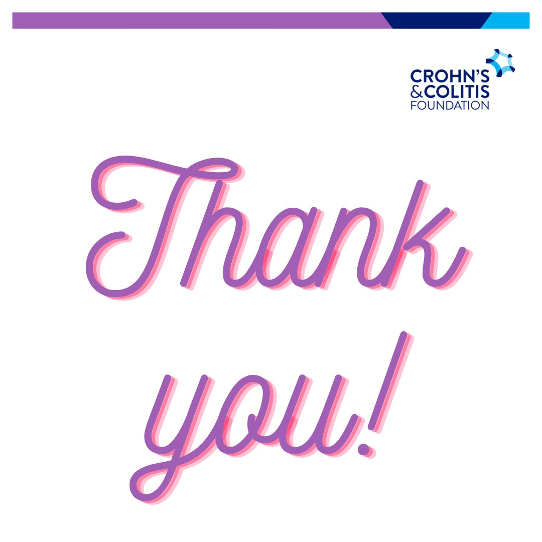 With #CCAwarenessWeek now over, we wanted to take a moment to say THANK YOU! We were blown away by how many of you shared your stories to help increase awareness of & familiarity w/#IBD. It takes a lot of strength to #spillyourguts - you truly helped make #IBDvisible ❤