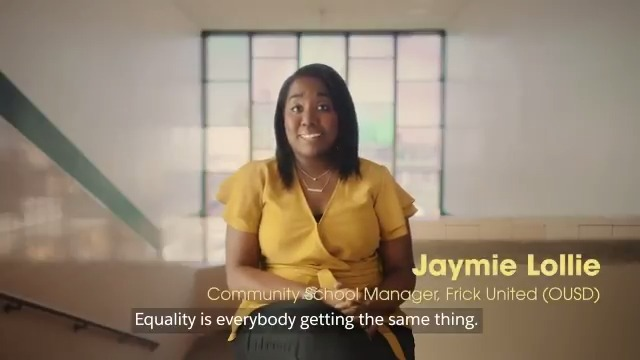 """""""It's technology matched with social justice."""" -@SupKylaOUSD  An inspiring look at how Oakland Unified School District (@OUSDNews) is using Salesforce tech to operationalize equity and holistically support students districtwide."""