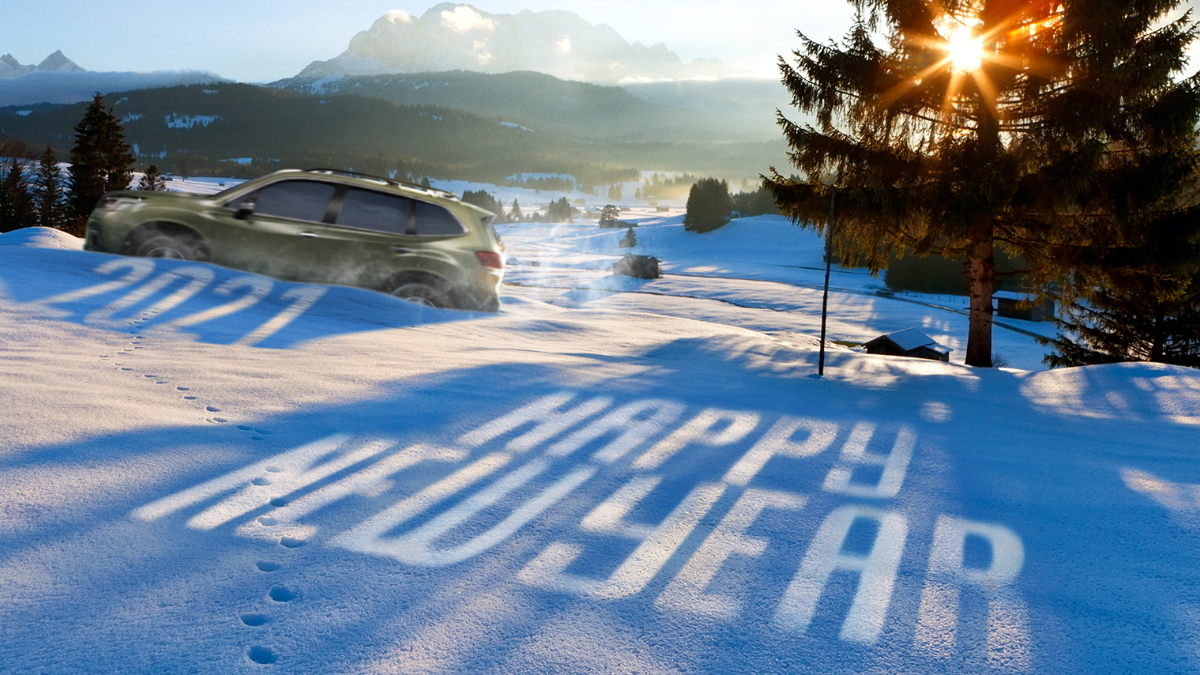 2021 incoming! 🥳  Happy New Year from the team at Subaru Ireland! https://t.co/VjYNINcdEw