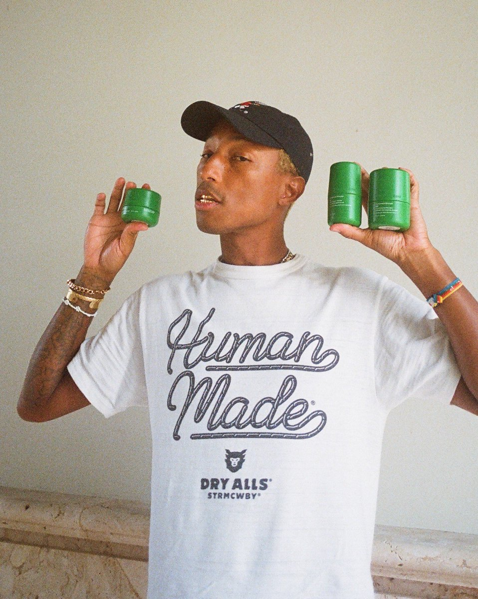 Replying to @Pharrell: .@humanrace skincare is restocked now 💫