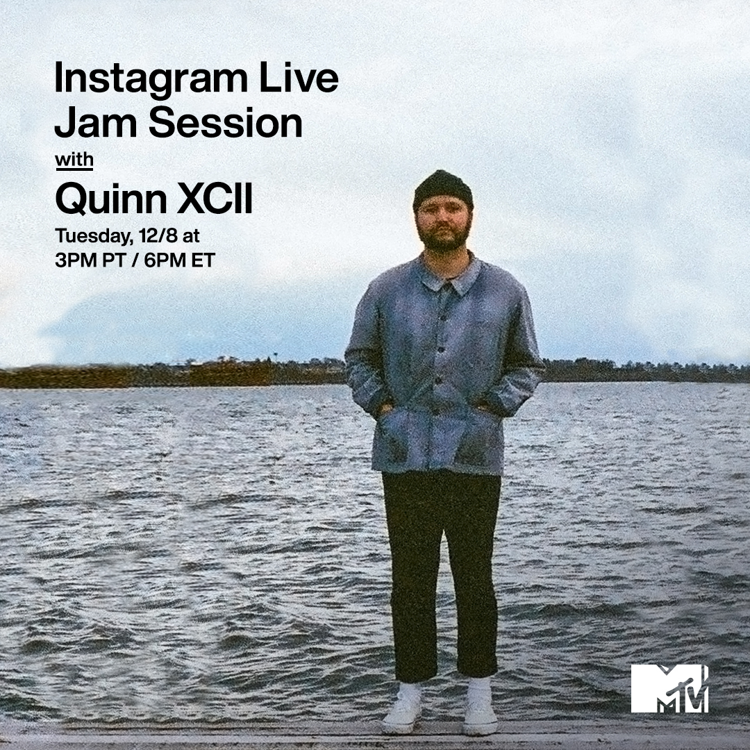 Vibes? Immaculate.  Today's plans? BOOKED.   Join @QuinnXCII for our #MTVJamSession TODAY at 3p PT / 6p ET on MTV's IG Live. 💫