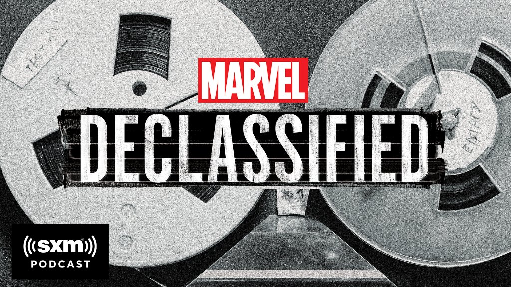 Marvel: Take a deep dive into the history of Marvel with our new podcast #MarvelsDeclassified! Listen to the first episode now, exclusively on @SiriusXM:
