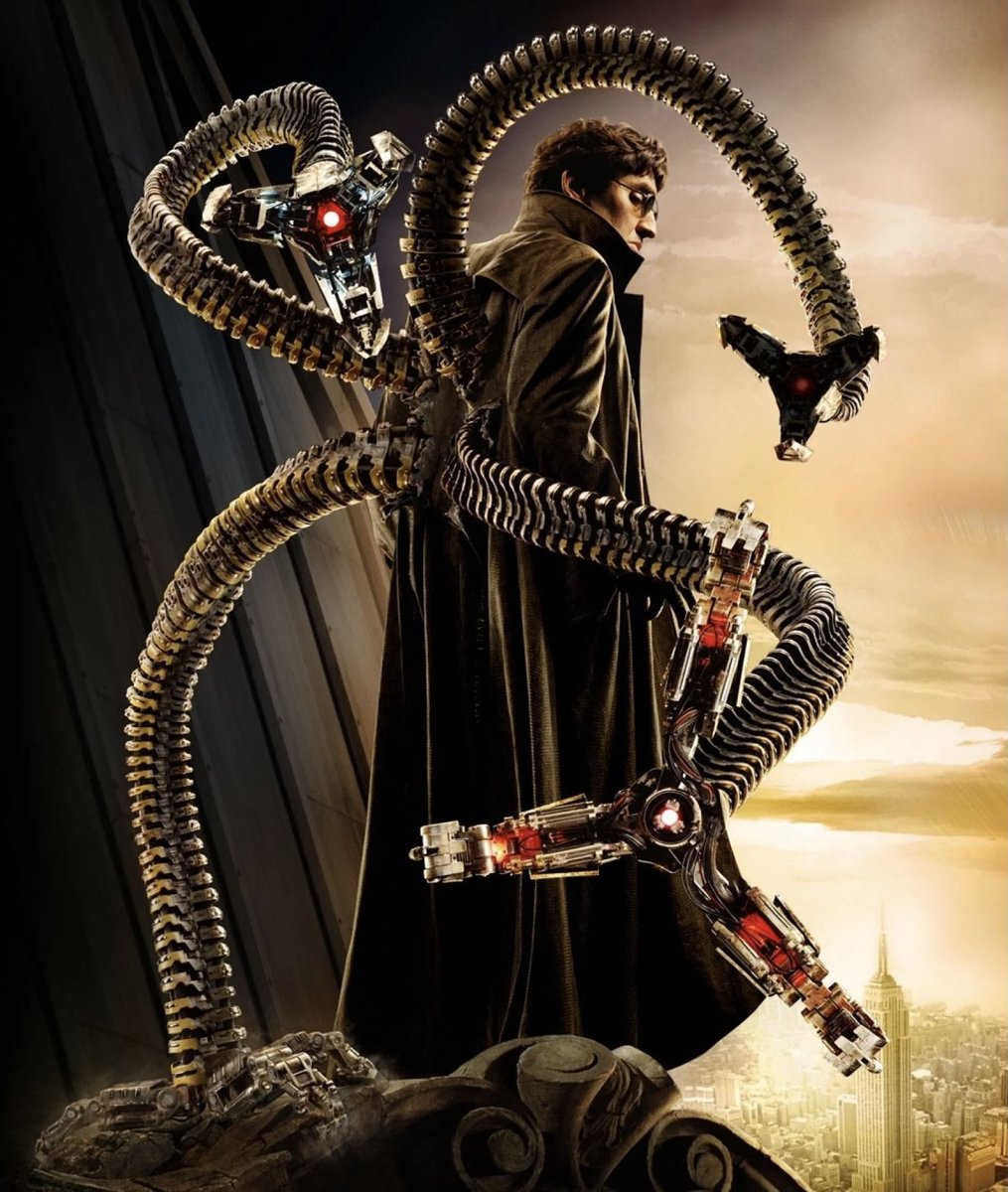 IT'S OFFICIAL, FOLKS. Alfred Molina is officially returning as Doctor Octopus in Marvel Studios' #SpiderMan3 (2021)!   This will be his first appearance since 'Spider-Man 2' in 2004, & he will be joining Jamie Foxx's Electro. The Spider-Verse IS happening! ...via @THR.