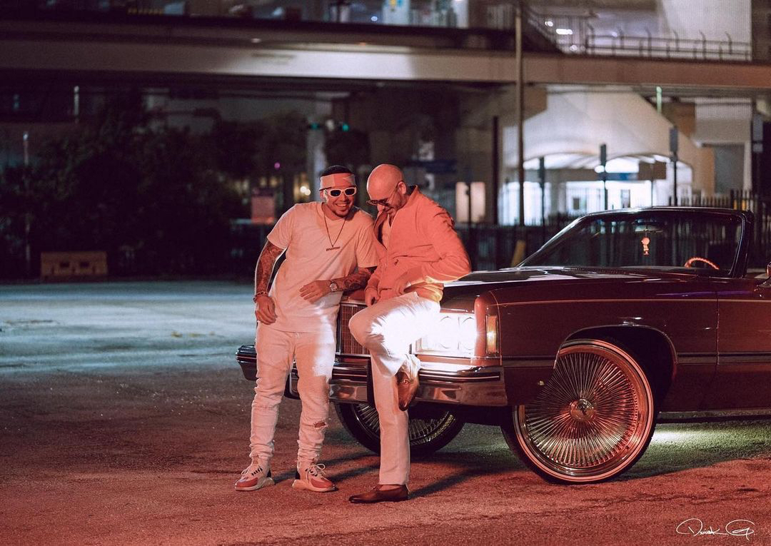 Replying to @Mr305_Inc: who's ready for some new @pitbull x @iamchino__ 👀🔥  (📸: @Derick_G)