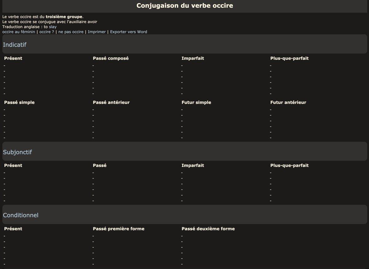 A Thread From Le Science4all Aujourdhuijapprendsque Le Verbe Foutre Ne Se Conjugue Pas Au Passe Simple Voila Qui Fout La
