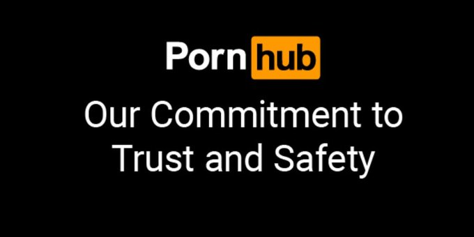 For more information on Pornhub's commitment to Trust and Safety, go to https://t.co/nFPZSfbrcP https://t
