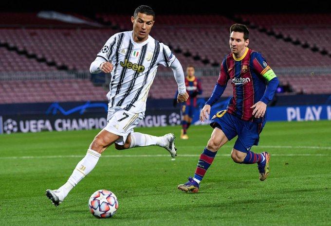 رونالدو يتفوق على ميسي ويخطف الصدارة ليوفنتوس أمام برشلونة على الكامب نو