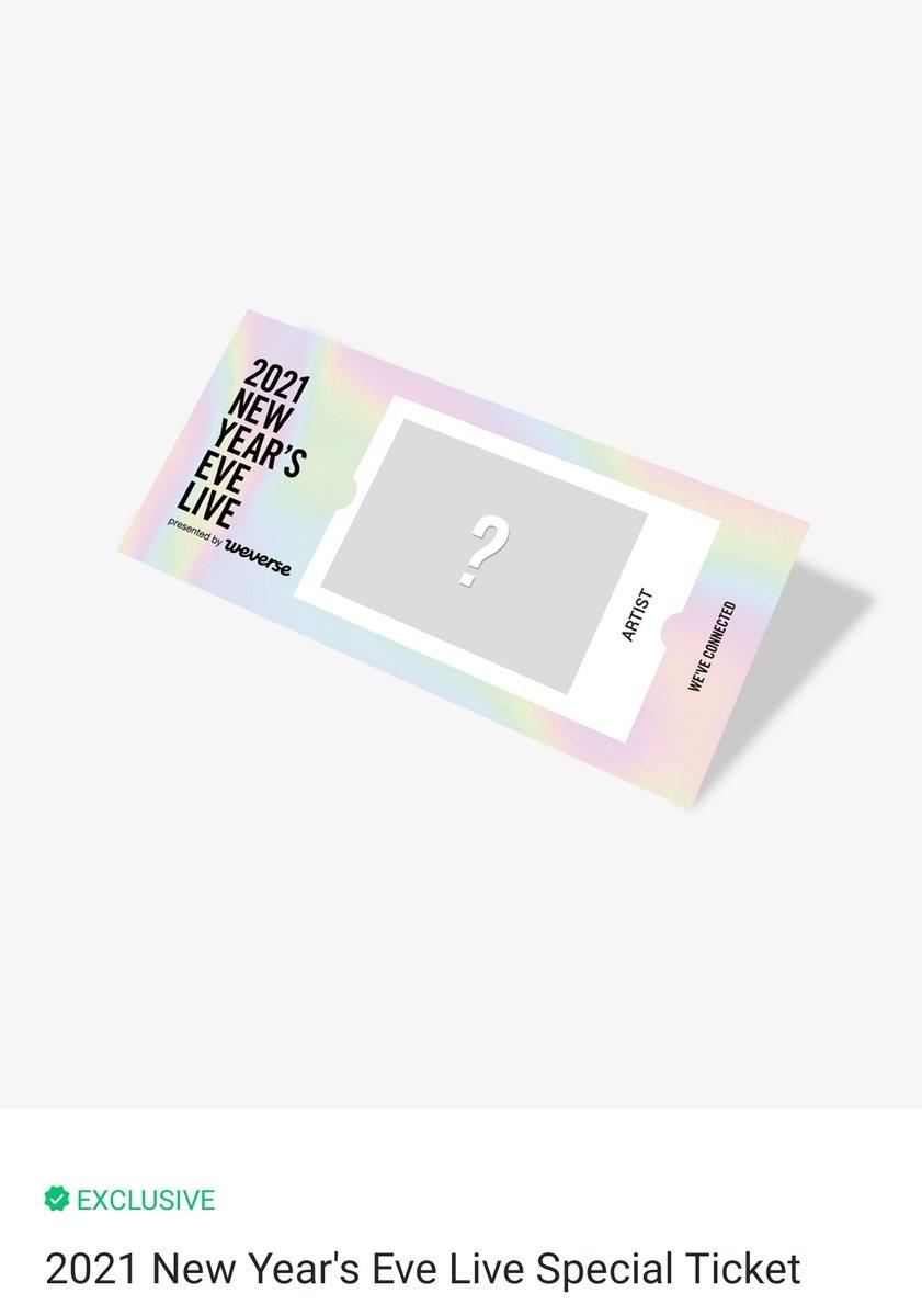 รับกดตั๋วคอน New Year's 2021 เฉพาะคนที่กดซื้อคอนไม่เกินวันที่ 14/12 ก่อนเที่ยง สามารถเลือกลายศิลปินได้ ตั๋ว : 200 รวมภาษี ค่าส่งเกา และส่งemsในไทยค่ะ🙆🏻♂️💖 #2021NYEL #WEVE_CONNECTED #LEEHYUN #BUMZU #ตลาดนัดนิวอีส #ตลาดนัดบังทัน #ตลาดนัดgfriend #ตลาดนัดTXT #ตลาดนัดENHYPE