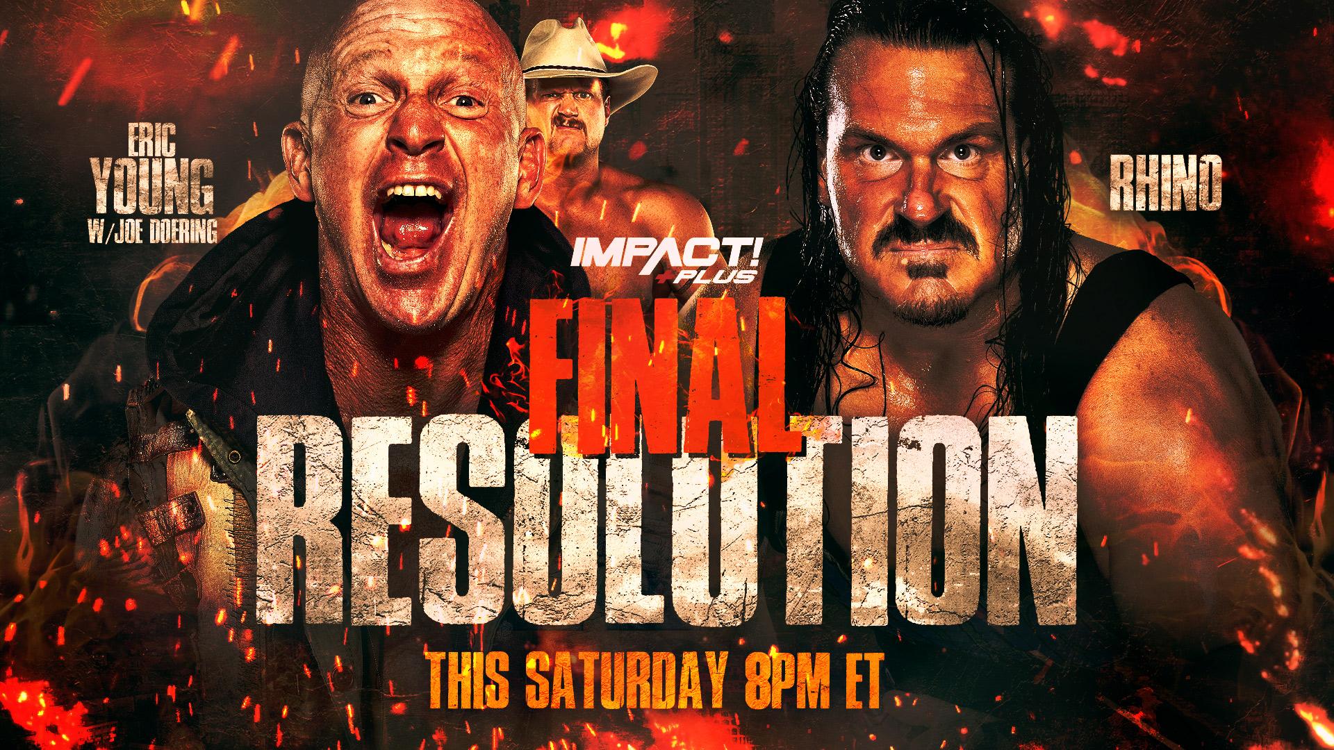 IMPACT Wrestling Presents Final Resolution