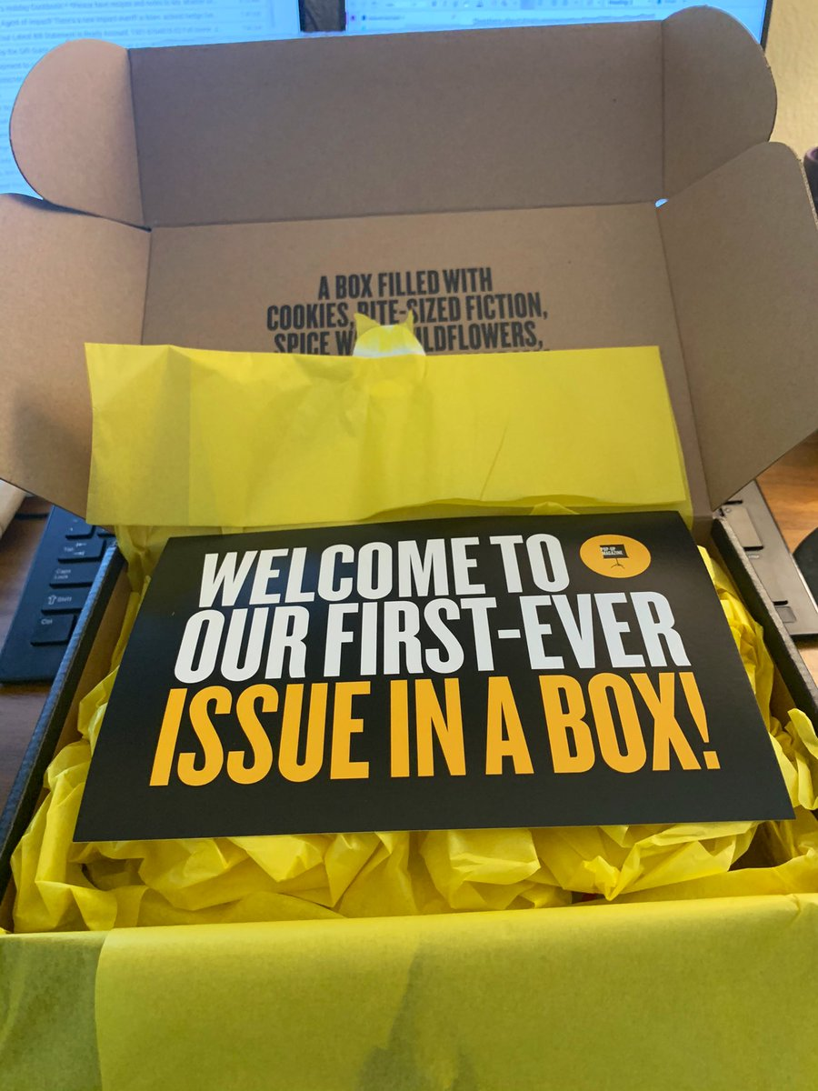 Replying to @jessfca: 👏👏👏 to @PopUpMag for this delight. Such a delicious take on your format. Until we meet again!