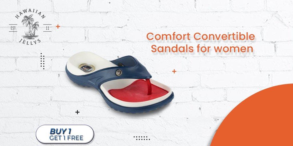 Comfort convertible sandals for women  #flipflops #sandals #feet #leathersandals #Slipaaahs #slippers #flipflopseason #fashion #summer #hawaiianjelly #shoes #dressshoes #onlineshopping #foot #heels #kidsfeet #chinelo #convertiblesandals #patrioticsandals #footwear #leathersandals