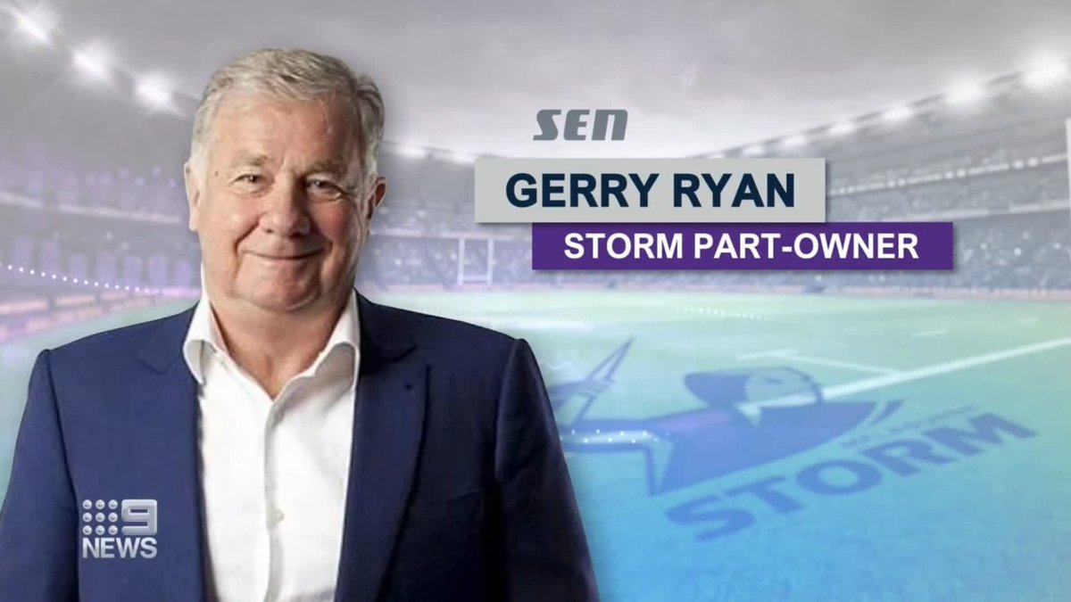 Storm part-owner Gerry Ryan has dropped a bombshell about Cameron Smith's future. @Danny_Weidler #9News