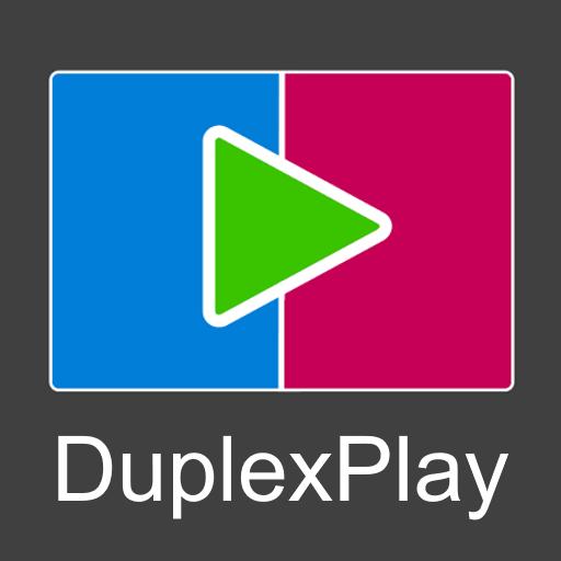 Logo oficial do aplicativo Duplex Play