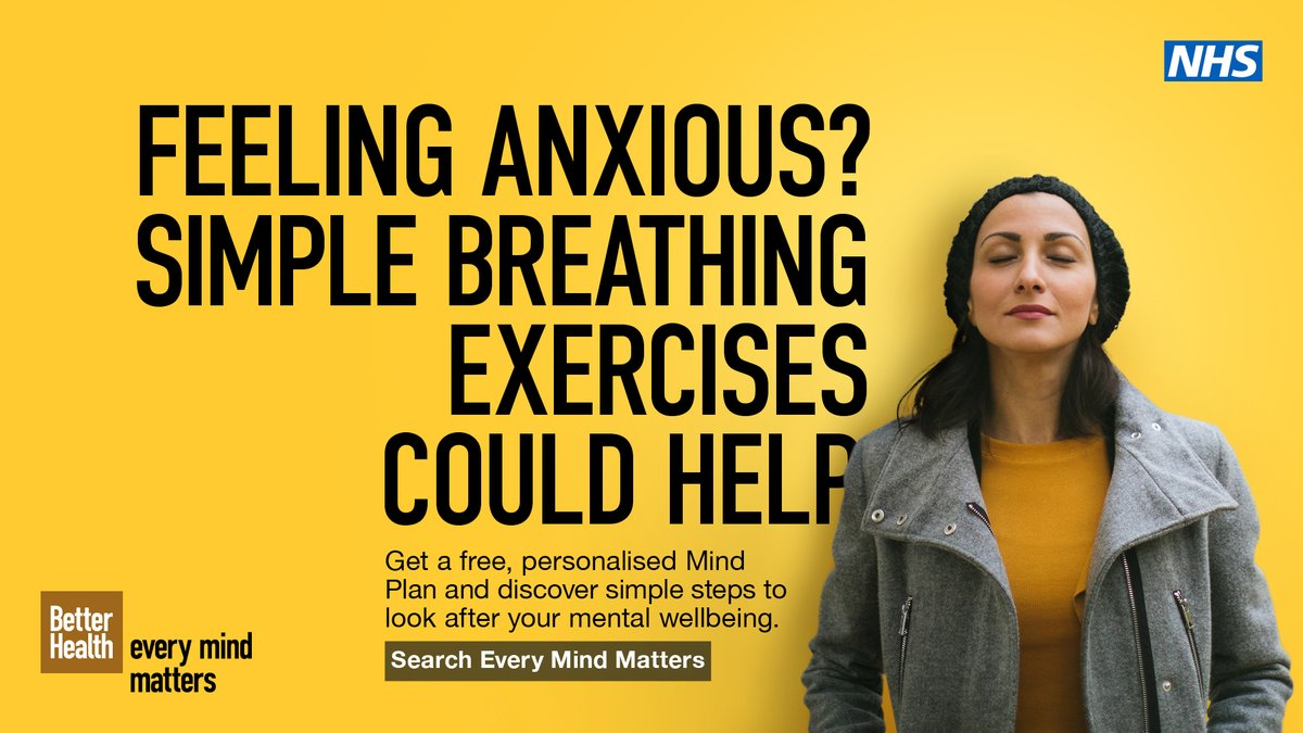 The #EveryMindMatters 'Your Mind Plan' is a free NHS approved online tool.     Answer 5 questions and receive top tips and advice to help you look after your mental health, improve your mental wellbeing and support others too.     https://t.co/Vm46pWoMmQ   #BetterHealth