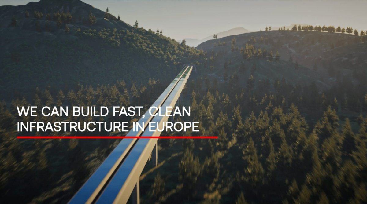 Hyperloop has been included in the @EU_Commission Sustainable and Smart Mobility Strategy, which aims to reduce transit-related greenhouse gas emissions by 90% by 2050 as part of the Green Deal. Read more: