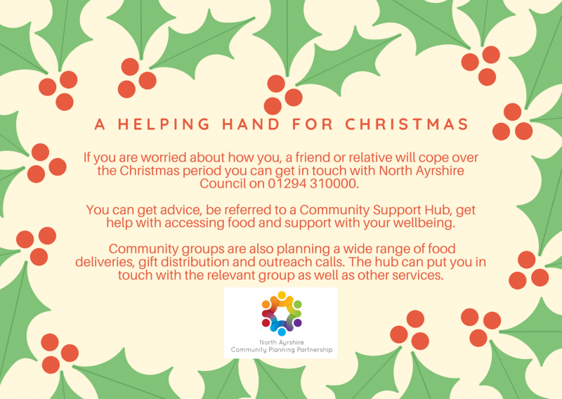 Do you, a friend or relative need some support this Christmas?