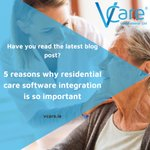 Image for the Tweet beginning: VCare integrates with a range