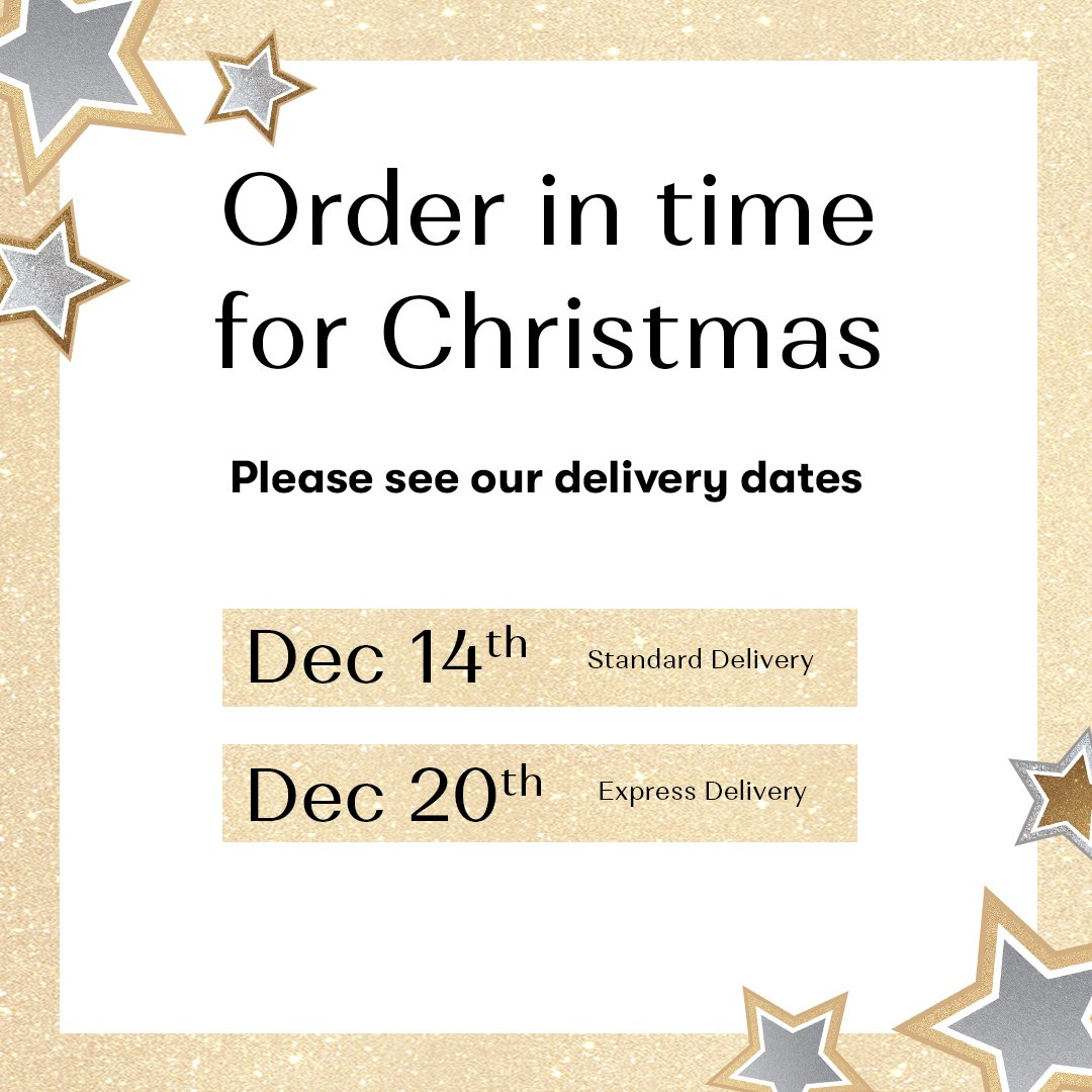 Need your order in time for Christmas? Check out our last Christmas delivery dates 🎅🎁 https://t.co/xP6f5vyYpN