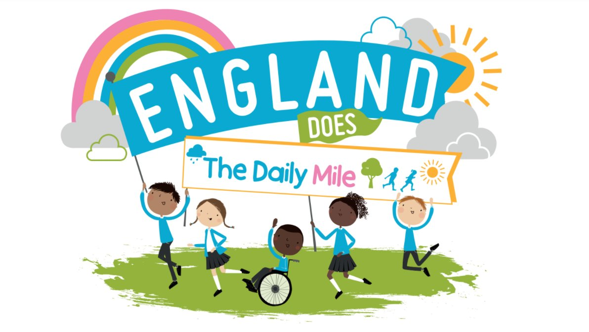 RT @_thedailymile: 🗣️ SAVE THE DATE ‼️ England does #TheDailyMile🚶♀️🏃♀️   We invite all primary schools across England to get moving on Friday 5th Feb 2021 and celebrate the positive benefits that daily exercise can have on mental health ❤️  Find out more here➡️https://t.co/qqRRkNRYaA