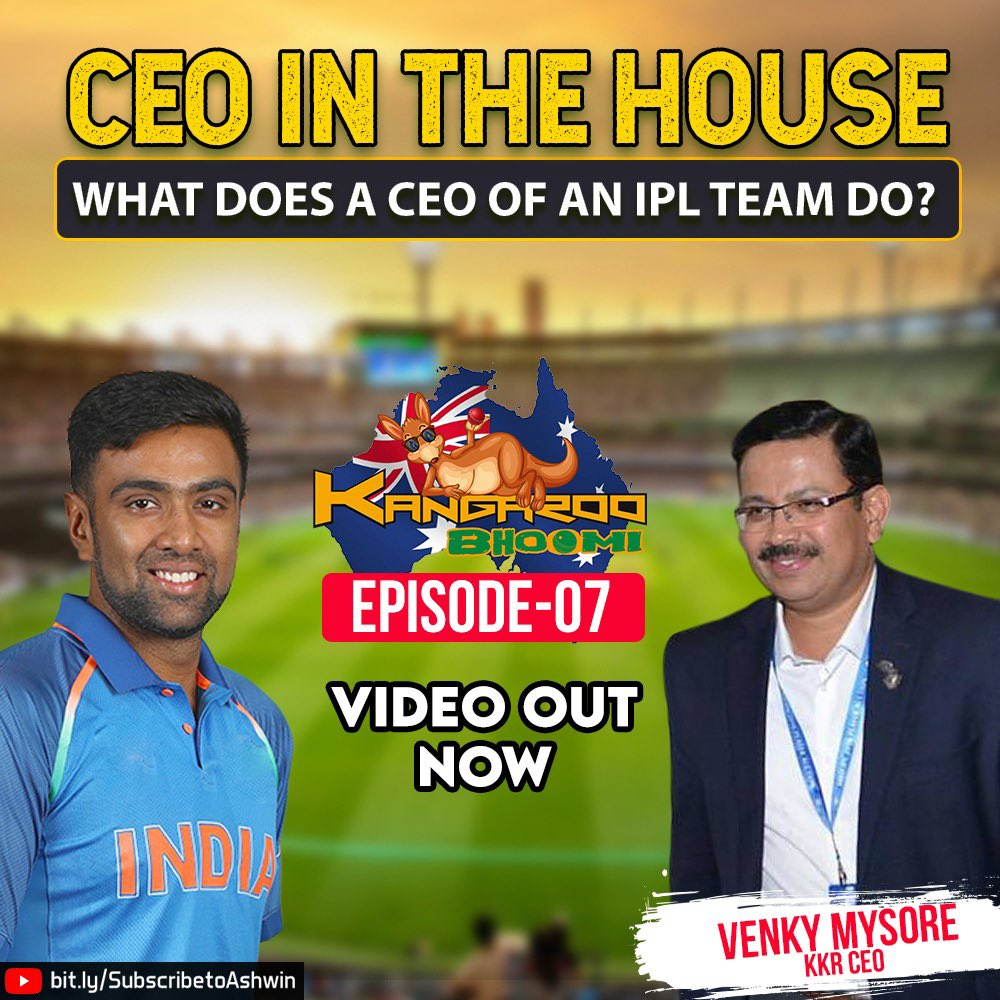 This is one of the most enriching chats I have had on my show, @VenkyMysore the CEO (MD) of @KKRiders talks about brand building, hierarchy and the leadership traits of @iamsrk .   You don't want to miss this one 👇🏻👇🏻