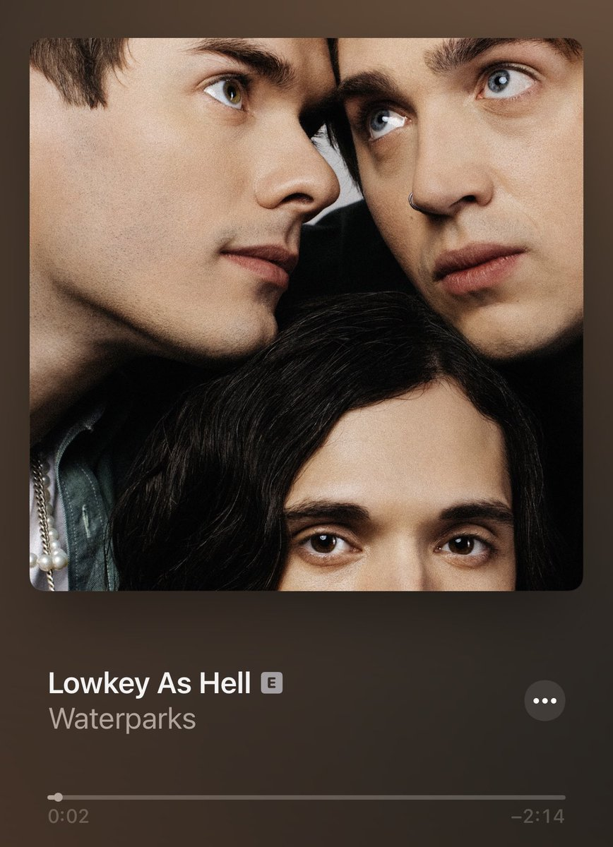 Lowkey lovin' the latest from @waterparks! #LowkeyAsHell #Wkly 🎶