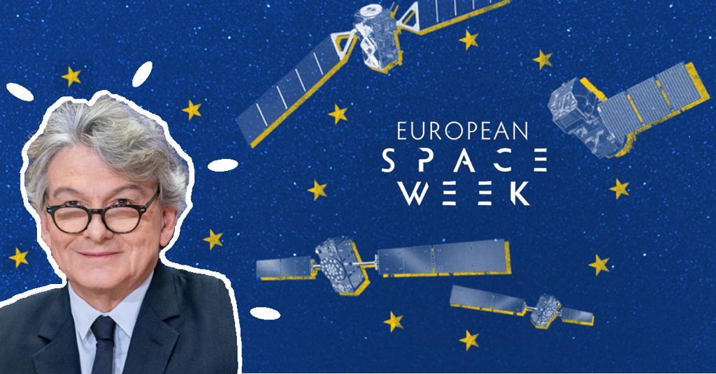 """The space landscape is changing fast. The cost of """"doing space"""" is decreasing as competition is evolving and innovation cycles are shortening. Heres Europes plan to enhance its #space power ⤵️ 🇪🇺🛰️ #EUSpaceWeek linkedin.com/pulse/enhancin…"""