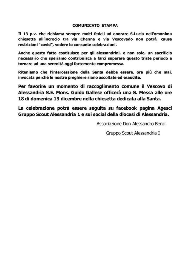 Santa Lucia 2020