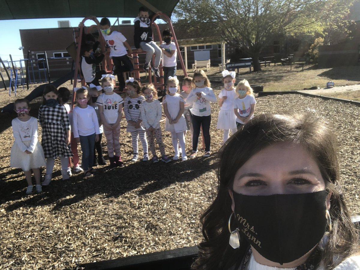 @Longbranch_Elem @LongbranchPTO it's white day in Kindergarten