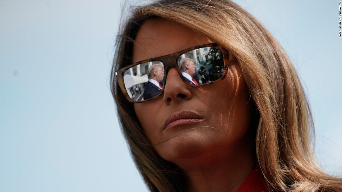 """First lady Melania Trump """"just wants to go home"""""""