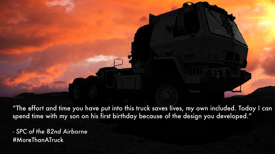 We're proud to serve our Warfighters and their families. #MoreThanATruck https://t.co/vGFgnOSZKF