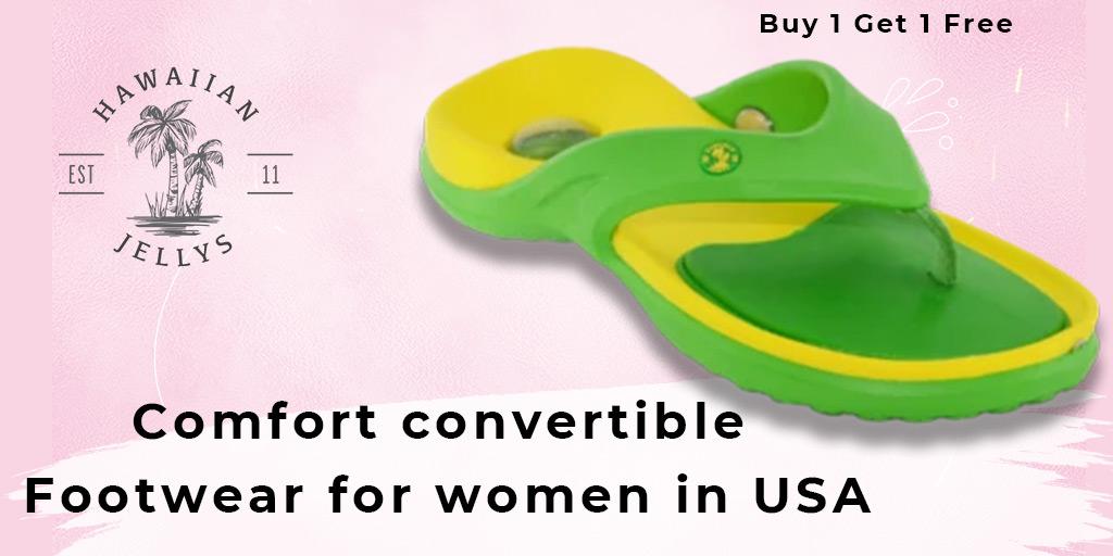 Comfort convertible footwear for women in USA #flipflops #sandals #feet #leathersandals #Slipaaahs #slippers #flipflopseason #fashion #summer #hawaiianjelly #shoes #dressshoes #onlineshopping #foot #heels #kidsfeet #chinelo #convertiblesandals #patrioticsandals #footwear #leather