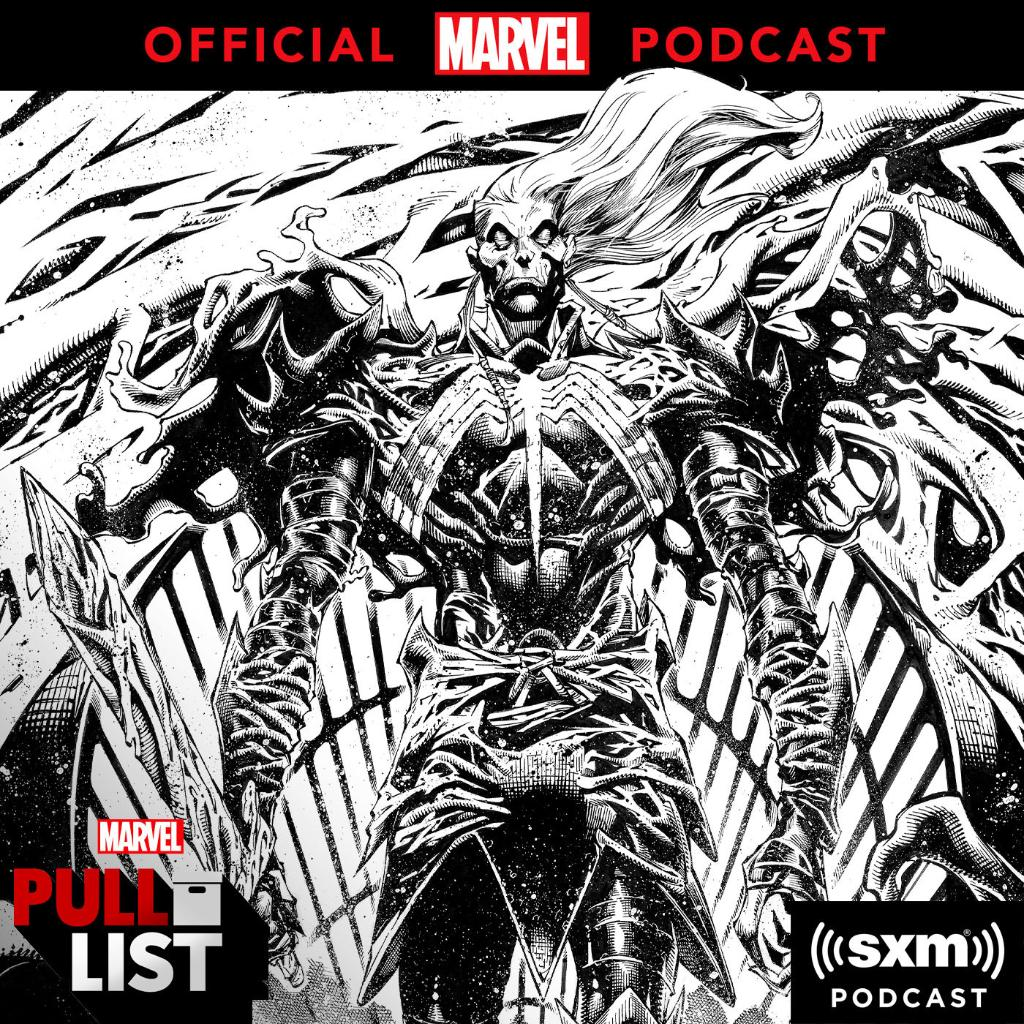 "From ""S.W.O.R.D."" #1 and more of this week's comic picks to #KingInBlack creator commentary with @Doncates and @RyanStegman, it's time for a new #MarvelsPullList! Listen to the episode early on @SiriusXM:"