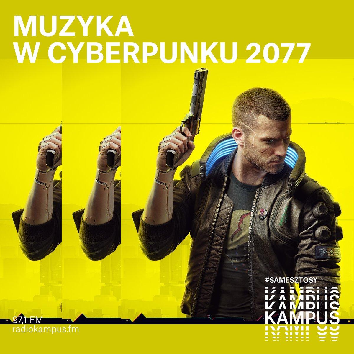 """🎮 Jak brzmi radio w #cyberpunk2077? O tym dziś o 16 powie nam kompozytor @ptadamczyk u @amarelopl w audycji """"Tutorial"""":  #Warszawa #muzyka"""