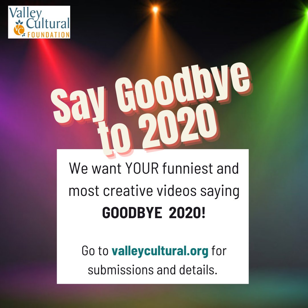 LET'S HAVE A LITTLE FUN! Help us say GOODBYE 2020! Think America's Funniest Home Videos! We will compile all the videos and post it for all of you to enjoy! Go to  for submissions and details.