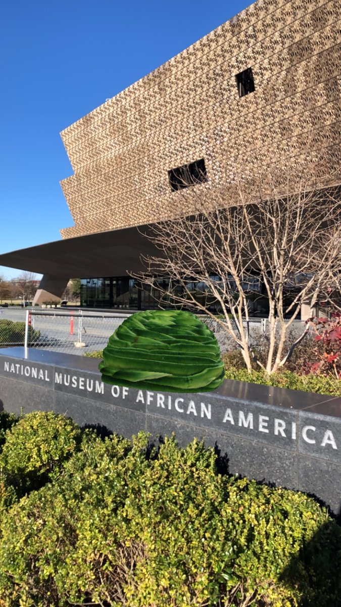 5/ Virtually trying on the hat made by celebrated African American milliner Vanilla Beane isn't just about modeling fashion—it's about learning about the tradition of ornate hats in the African American community. @NMAAHC