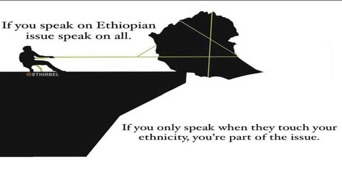 ✋ #selective reporting of #Ethnic_based_attacks;   ✋ #selective reporting of #foreign_aggressions;  => voicing & propagating to surve ur political agenda !  All #Ethiopians lives matter ! All #Ethiopian_territories matter !  #StopGenocideInEthiopia  #SayNoToWarEthiopia 🇪🇹