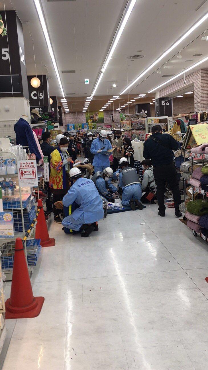 ラゾーナ川崎の殺人未遂事件の現場の画像