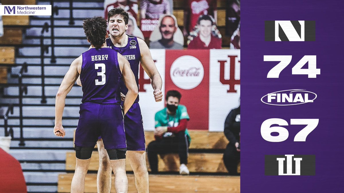 Northwestern basketball 👀 sneaky! Another big win in the best conference in America!