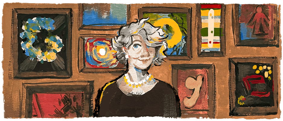Turkish artist Aliye Berger left a lasting impression on the art of engraving 🇹🇷  Despite a late start, she proved to be cut out for a career in the arts as soon as she scratched the surface ✂️   #GoogleDoodle →