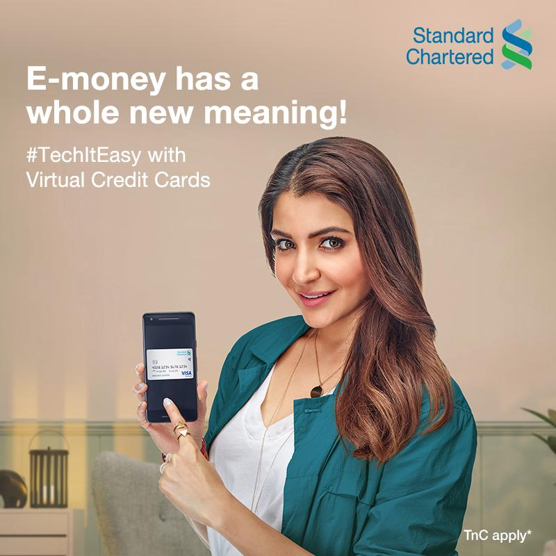 There's a special kind of happiness felt when you find money in your pocket. Now, imagine finding it in your inbox! #TechItEasy with Standard Chartered and access your virtual credit card instantly. To know more,  #StandardChartered #VideoKYC