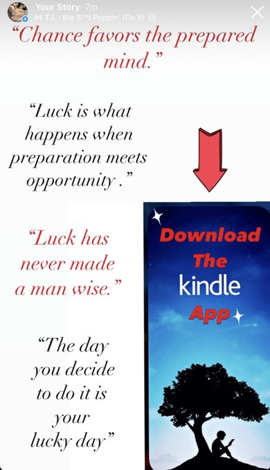 """Want To Learn How To """"GET FEET?""""  . Download The Kindle App Today‼️ . 🔥Prepare Yourself For The Life"""