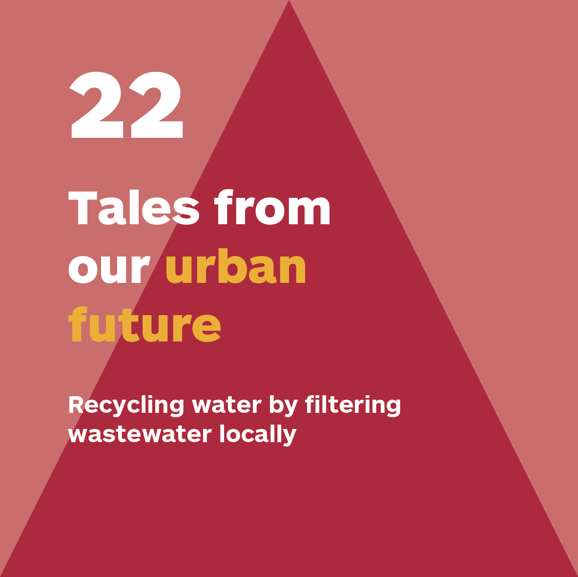 Celebrating collaboration – Dec 22: #Recycling water by filtering wastewater locally  This collab between @3XN_GXN and #startup Nordphos filters wastewater to make it possible to recirculate the water several times  Click on photos to see the full story.  #OurUrbanFuture