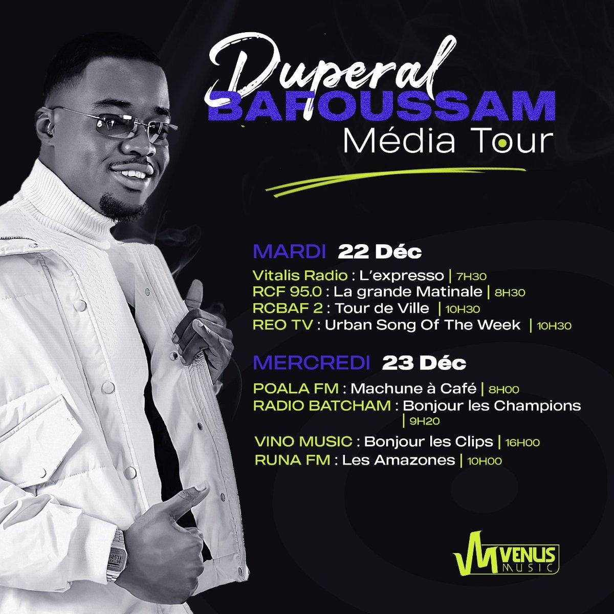 Bafoussam : Je suis là ✌🏿  #Duperal #CestComplique #MediaTour #Team237 #VenusMusic #Bafoussam #Cameroun