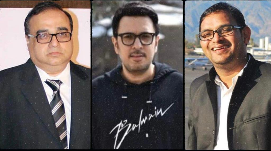 #RajkumarSantoshi,#DineshVijan and #MahaveerJain join hands... Announce 7-episode series that will highlight valour, values and culture of #India...Part of #ChangeWithin initiative launched by film fraternity in 2019..Produced by DineshVijan #MahaveerJain.
