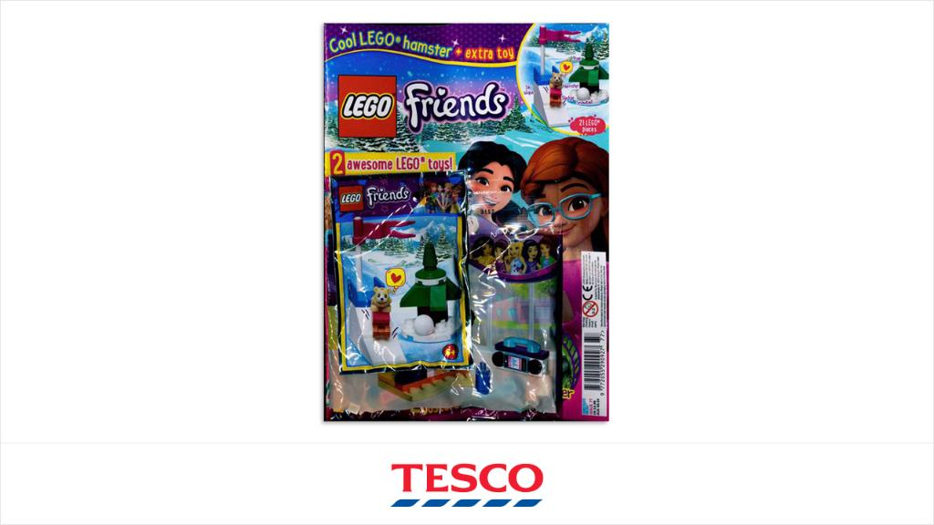 We've been made aware that Lego Friends magazine issue 77 is being recalled. This is because the dog treats recipe on page 25 includes raisins – this ingredient is toxic to dogs.  Find out more here: