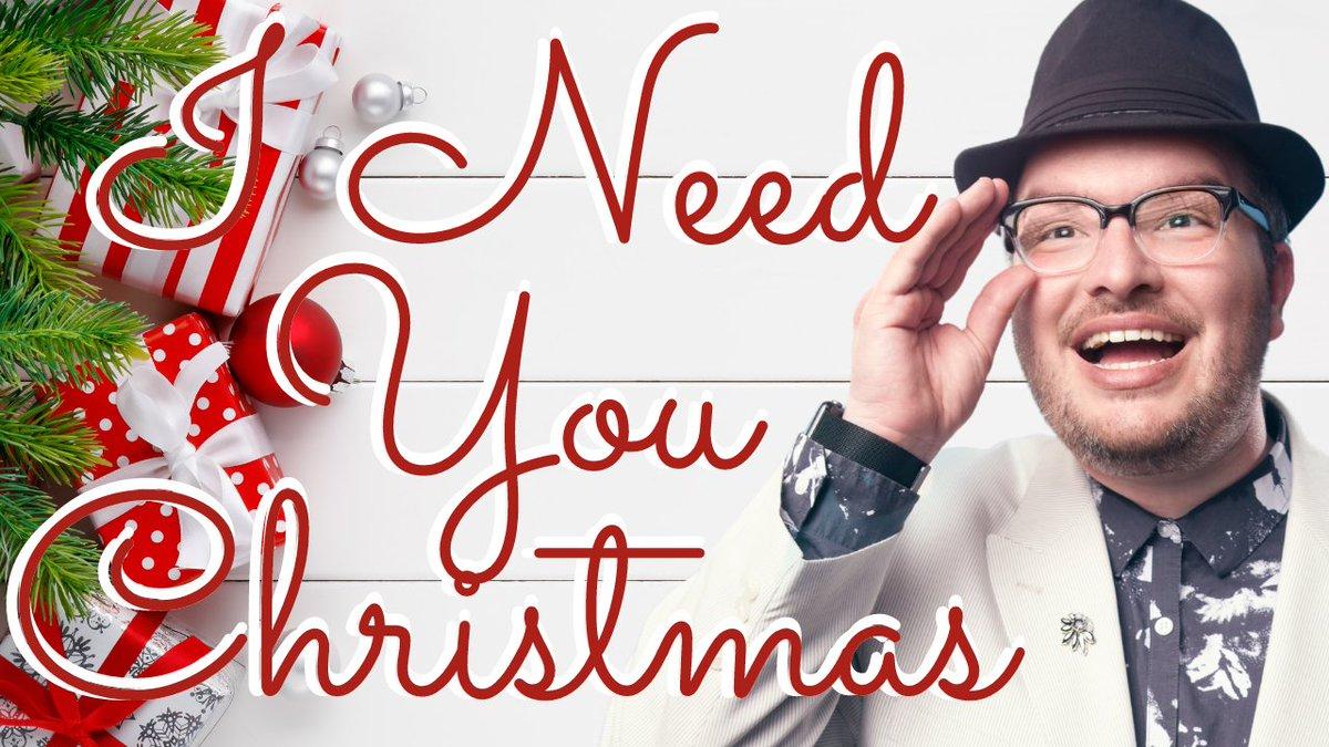 My cover of a Jonas Brothers Christmas song - yes really! 僕のジョーナス・ブロザーズの「アイ・ニード・ユー・クリスマス」のカバーです!#ineedyouchristmas #jonasbrothers