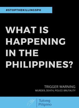 please please i'm begging you to go re-tweet it even educate yourself on what's going on in the Philippines right now!!!!!!