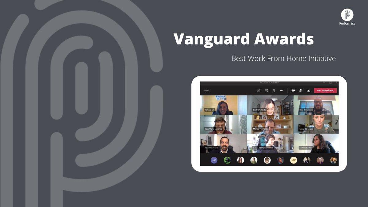 """test Twitter Media - ¡Estamos de enhorabuena! Hemos ganado el Vanguard Award en la categoría """"Best Work From Home Initiative"""" por la manera de conectar el equipo y mantener nuestra cultura en época de pandemia gracias a los Performelettes y los Aperitics. ¡Muchas gracias a todos! 🏆 https://t.co/cMxZ8gllXm"""